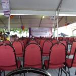 Het spannende lokale festival werd druk bezocht...