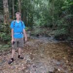 In modieuze waterschoenen, geschikte jungleoutfit (: