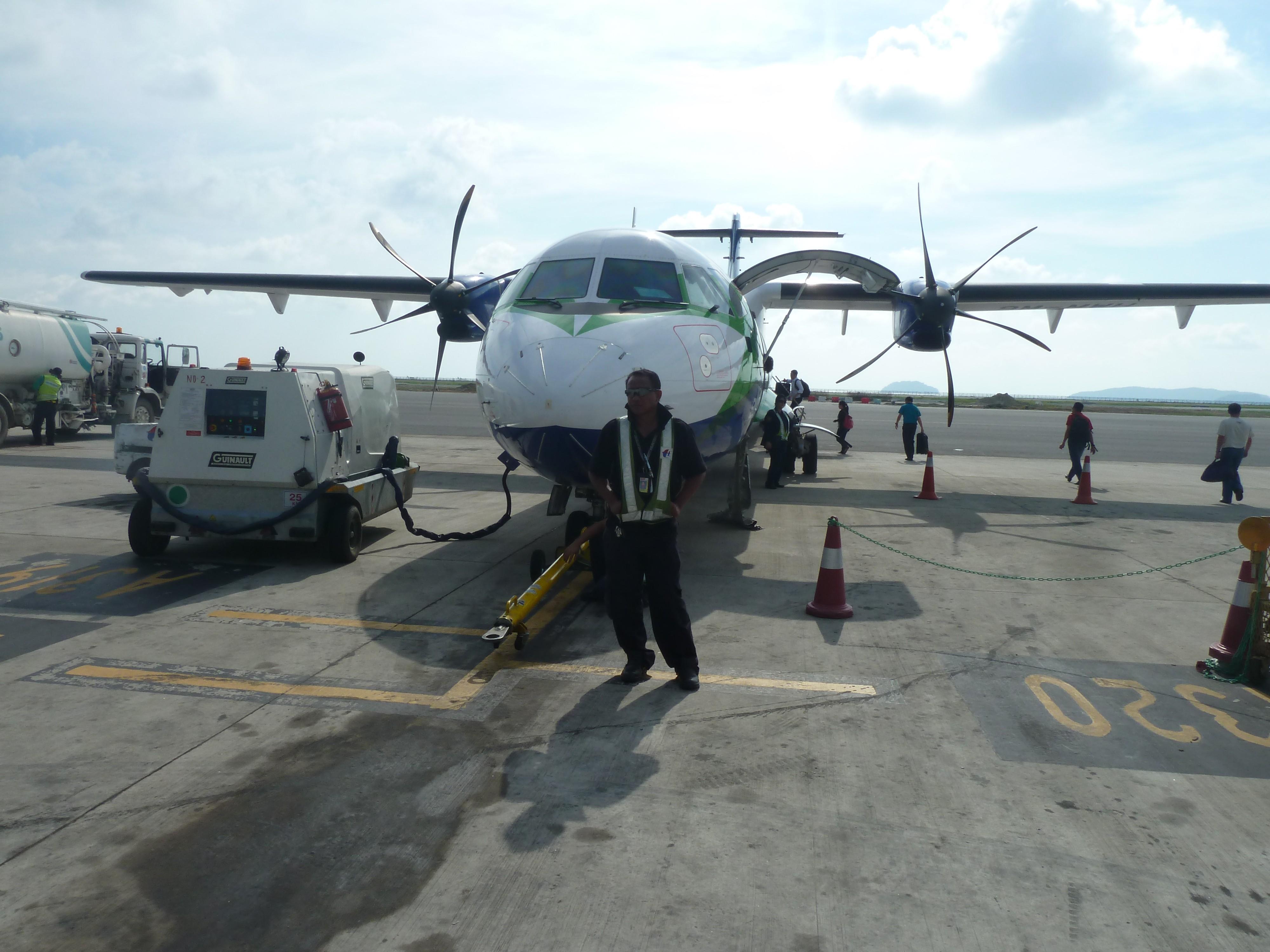 propellervliegtuigje