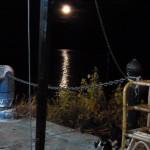 Maan in de zee
