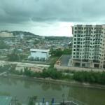 Uitzicht vanuit het hotel