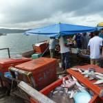 Filipijnse markt aan zee