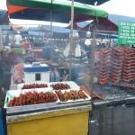 Lekkere vleeshapjes met saus