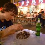 Op straat eten in Qindaou