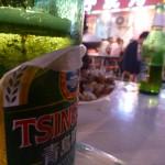 Tsingtaou, Chinees lokaal bier, niet slecht