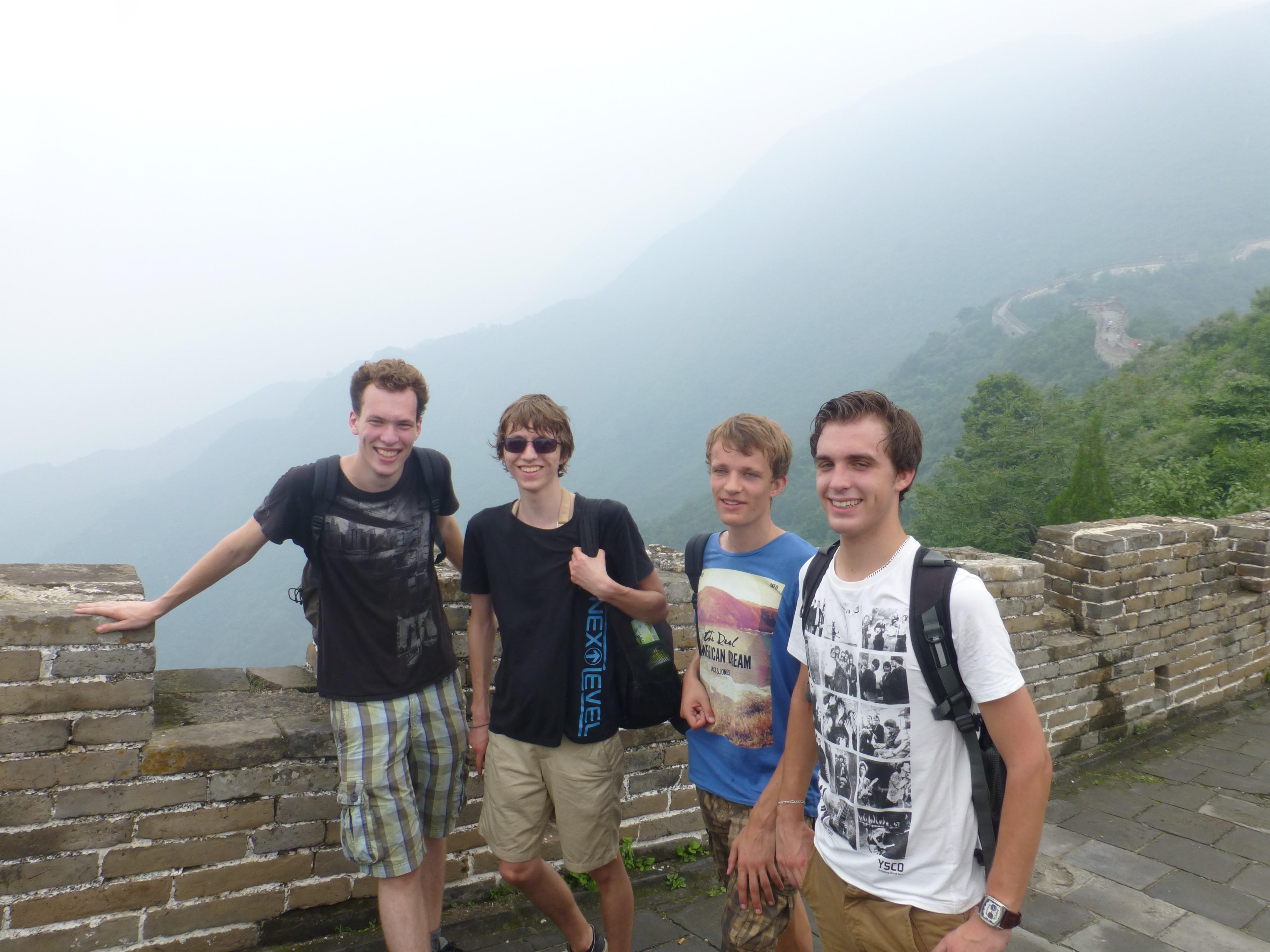 Alex Mostert Chinese muur