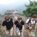 Beklimmen van de Chinese Muur