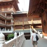 Tempel midden in Shanghai