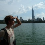 Uitzicht op Nanjing
